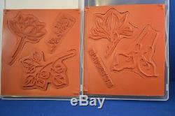 2015 Retired Stampin' Up Remarkable You Stamp Set of 6 & Dies by Dave Rare HTF