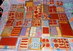 36 Complete sets-Almost All Unused! STAMPIN' UP rubber stamps-crafts-SEE LIST