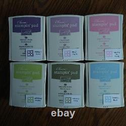 36 SU Ink Pads-3 full sets Soft Subtles-Earth Elements-Rich Regals-Majority NEW