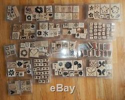 72 Stampin Up Stamp Sets Huge Lot Of Stampin Up Stamp Sets Approx 590 Stamps