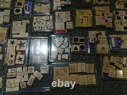 Absolutely Huge Stampin' Up Stamp Set, over 60 sets (500+ stamps), Excellent