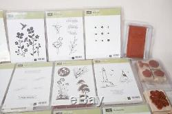 Awesome Huge Lot Of Stampin' Up Rubber Stamp Sets All New In Their Box. 26 Sets