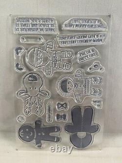 COOKIE-CUTTER CHRISTMAS Stamp Set & COOKIE-CUTTER Punch Stampin Up New