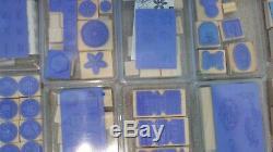 HUGE 32 SETS Lot Stampin' Up Rubber Stamp Set Scrap Booking Cards Art Crafts NEW