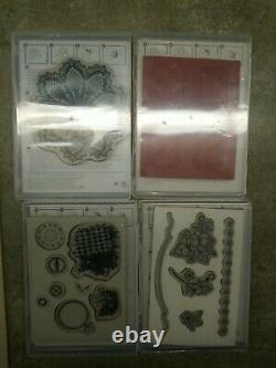 HUGE Lot NEW Stampin Up Stamps 39 Sets