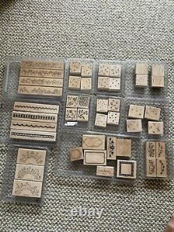 HUGE lot of rubber craft stamps. 77 complete sets. Many new or never used