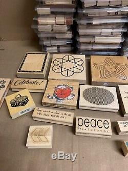 Huge Lot Of retired Stampin' Up stamp sets Massive