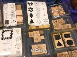 Huge Lot of (78) Complete Sets Stampin Up Rubber Stamps