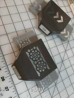 Huge lot 25 Stampin Up Rubber Stamp Sets and 2 Punches Acrylic Clear