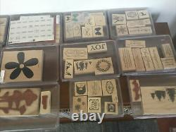 Large Lot Stampin Up Collection From Sales Rep. Over 100 Very Clean Sets