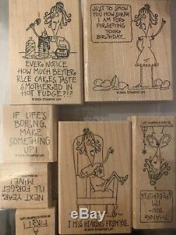 Lot Of 19 Stampin Up Sets. MANY RARE