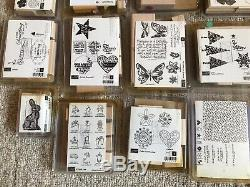 Lot Of 31 Stampin Up Stamp Sets. Unmounted, Brand New