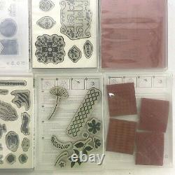 Lot of 11 Stampin Up Stamp Sets Holiday Hostess Baby Animals Sea Notes Themes