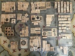 Lot of 19 Stampin Up! Stamp Sets Many unused