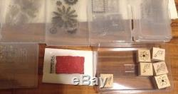 Lot of 23 Stampin Up! Stamp Sets Variety All Occasions