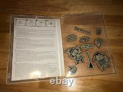 Lot of 45 Stampin' Up Stamp Sets Mixed Themes New and Used