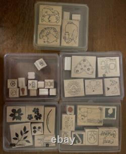 Lot of 48 Stampin Up! Stamp Sets