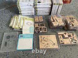 Lot of Stampin Up Stamps Set Sizzix Big Shot + Extra