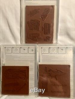 NEW Stampin Up! Huge Lot Of 10 Brand New In Box Stamp Sets 95 Never Used Stamps