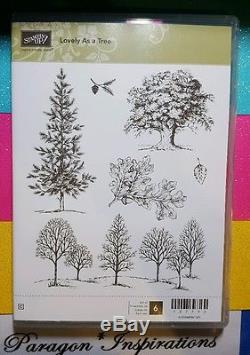New Stampin Up Lovely As A Tree Stamp Set Amp Matching