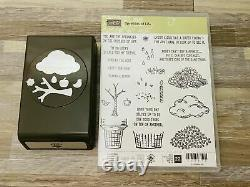 NEW Stampin' Up! Sprinkles of Life Stamp Set and New Tree Builder punch