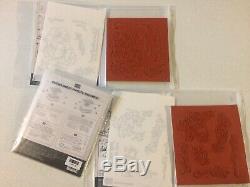 New Stampin Up Blended Seasons Stamp Set & Stitched Seasons Framelits Dies