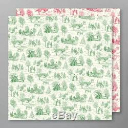 New Stampin Up TOILE CHRISTMAS Bundle Stamp Set Dies DSP Cardinal Words Branch