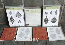Ornament Keepsakes Stamp Set & Holiday Ornaments Framelits Retired Stampin' UP