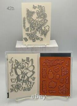 Retired Stampin Up Stamp and Die Set BEAUTY ABOUNDS