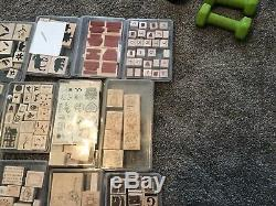Rubber Stamps 40+ Sets Stampin Up