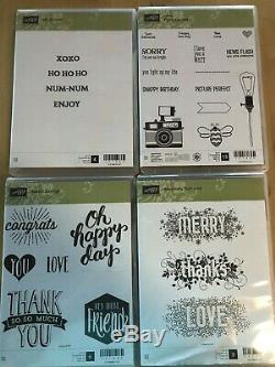 SELLING Many Stamp Sets by Stampin Up (A)