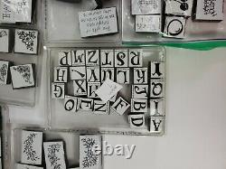 STAMPIN UP! 22 Foam Stamp Sets & Some Loose Ones. Some Missing In The Sets