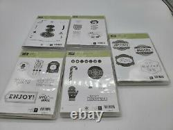 STAMPIN' UP! HUGE LOT RUBBER STAMP SETS And clear