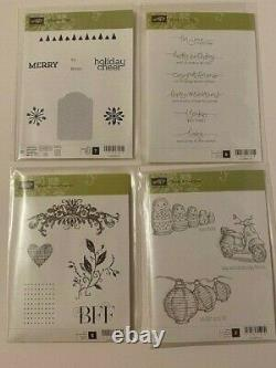 STAMPIN' UP! LOT 28 SETS, Punch, Dies, Fast Fuse, and more New and Used