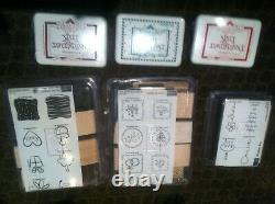 STAMPIN UP NEW Bulk sets of STAMPS and INK for the Creator in YOU