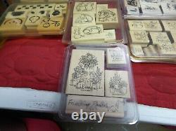 STAMPIN' UP stamp collection set 1995-2002 lot