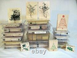 Stampin Up, 101 Stamps, 16 Sets, Mixed Lot, Crafts