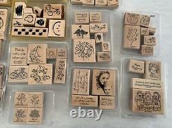 Stampin Up! 20 Stamp Sets & 2 Backgrounds Bundle all occasions, seasons, holidays