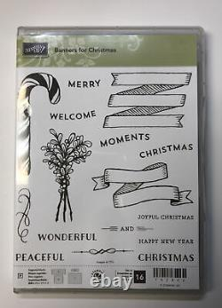 Stampin' Up 5 Banner Themed Stamp Sets, Plus Dies And Matching Punch NLA