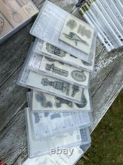 Stampin Up! 77 sets kits HUGE LOT See Pix Get your Craft on