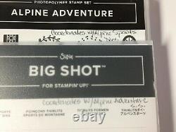 Stampin' Up! ALPINE ADVENTURE Stamp Set & ALPINE SPORTS Dies NEW