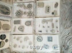 Stampin Up Assorted Stamp Sets Lot of 18 Sets Mixed Themed Unmounted Stamps