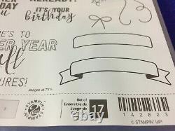 Stampin' Up! BALLOON ADVENTURES Stamp Set & BALLOON POP-UP THINLITS Dies NEW