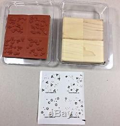 Stampin Up BEYOND THE BASICS Background WM set RETIRED & HTF NEW in Package