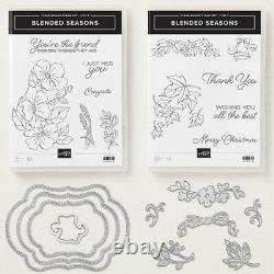 Stampin' Up! BLENDED SEASONS 2-Case Stamp Set & STITCHED SEASONS Dies