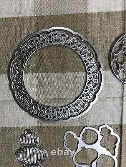 Stampin Up Beautiful Baubles Photopolymer Stamp Set Plus Coordinating Dies
