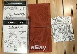 Stampin Up! Blended Seasons CM Stamp Set & Stitched Seasons Framelits Dies