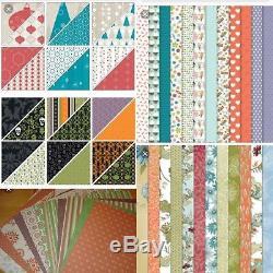 Stampin Up Bundle Lot 15 BIRTHDAY DSP, Cardstocks, Stamp Sets, Ribbons, & More