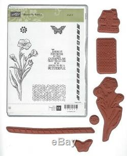 Stampin' Up Butterfly Themed Lot Dies, Punch and Stamp Sets 27 Pcs