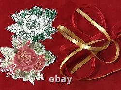 Stampin' Up! CHRISTMAS ROSE 2 Case Stamp Set & ROSES Dies Plus DSP & more! NEW#2